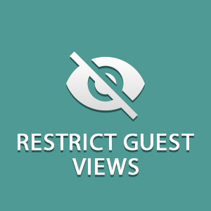 Restrict Guest Views