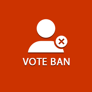 Siropu Chat - Vote ban